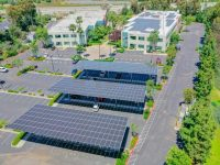 EDF Renewables constructs solar carports at Cox Communications headquarters