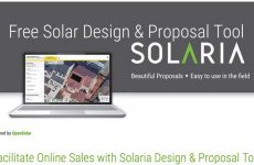 Solaria teams with OpenSolar to debut this free Solaria Proposal Tool