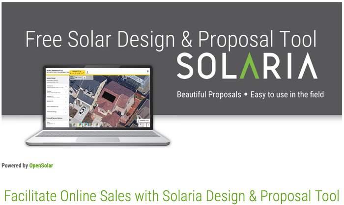 Solaria Proposal tool