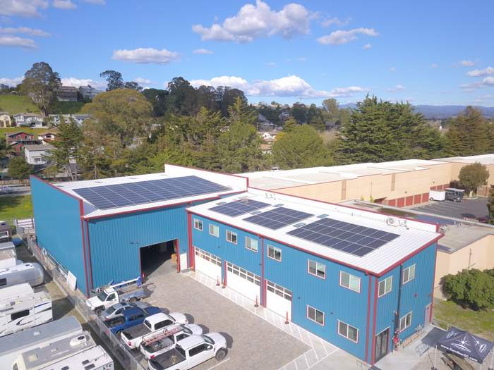 Sandbar Solar & Electric Warehouse