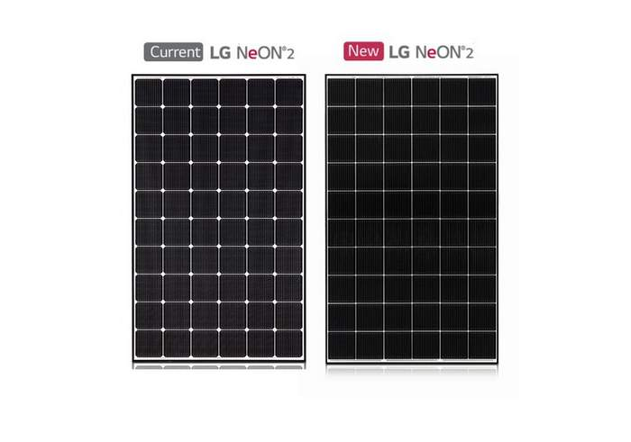 LG Electronics USA Solar Modules