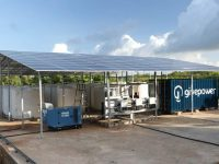 Each solar panel sold by Aptos Solar Technology helps fund clean drinking water projects
