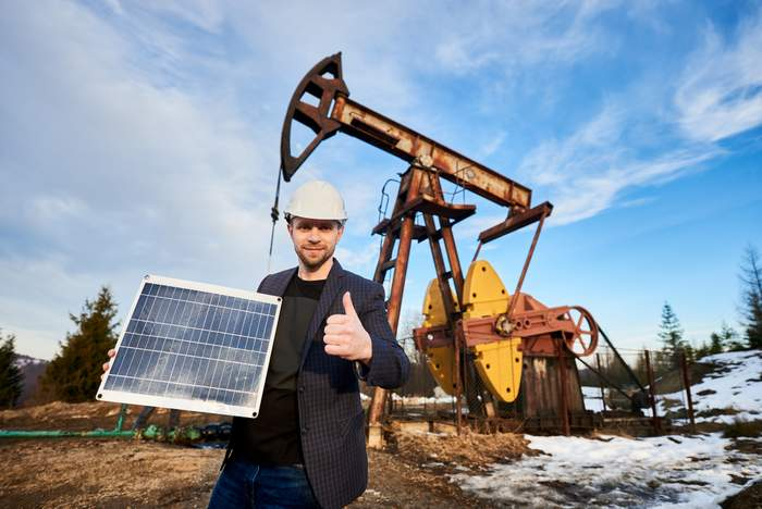 oil and gas solar