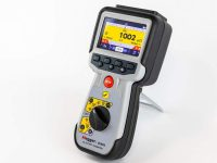 Megger with new digital low resistance ohmmeter
