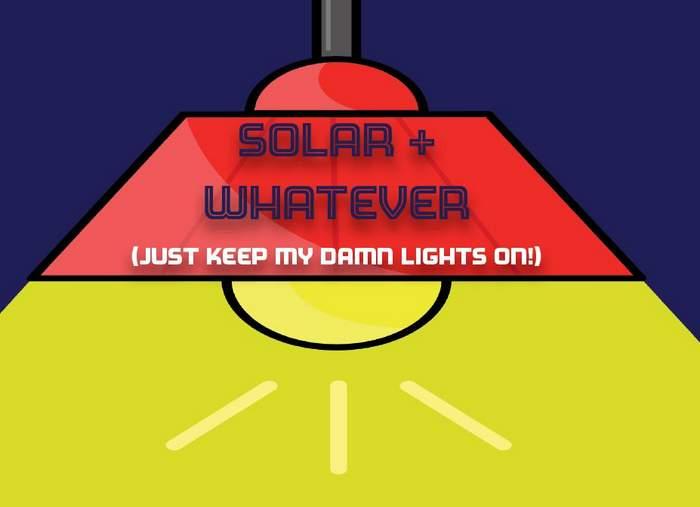 solar plus whatever