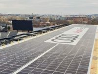 New Columbia Solar completes standout solar system atop MLS stadium