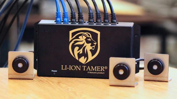 Li-ion Control Box and Sensors