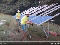 Third Sun Solar donates ground-mounted solar array to Women for Recovery of Athens, Ohio.