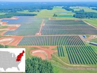 Solar FlexRack TDP 2 Trackers are installed in the Danville Solar Project located in Virginia. The project is owned by independent power producer, Navisun.