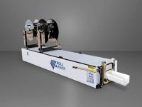 Details on Roll-A-Rack, a portable roll-former to produce custom solar racking on site