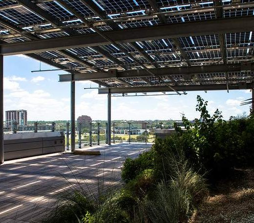 Apparent improved solar array utilization at Texas' Austin Central Library by 30 percent
