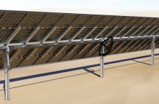 Check out Ideematec's new 2P solar tracker, Horizon L:Tec