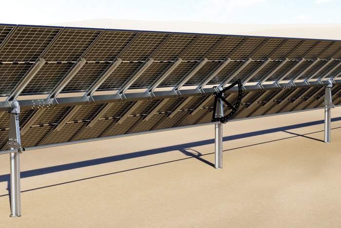 ideematec 2p horizon solar tracker 2