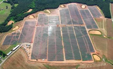 Danville, Virginia utility-scale solar project