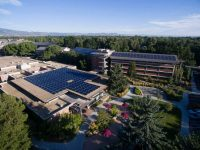In 2012, Namasté Solar and Solaris Energy developed six roof-mounted solar installations on CSU's main campus totaling 1.2 MW.
