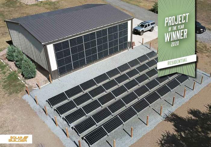 Residential Solar Project of the Year 2020: Villa Residence and Home Brewery