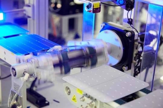 Q Cells passivation production process