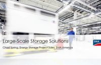 The Pitch: Large-scale energy storage value drivers with SMA