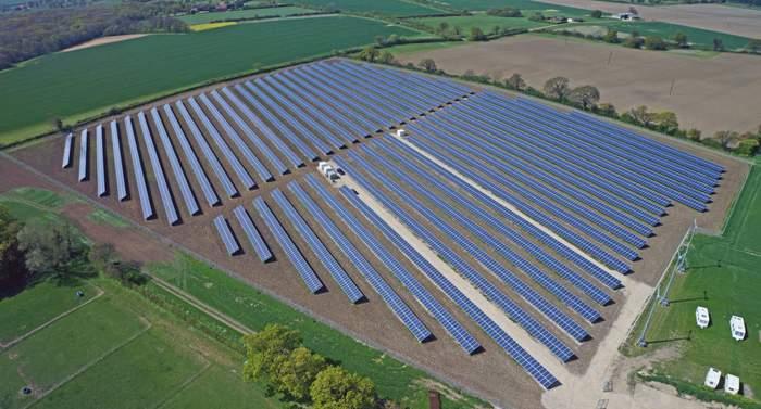 ideematec solar tracker project