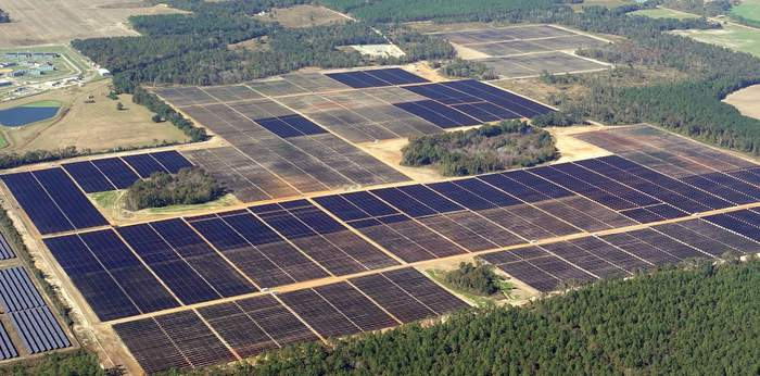 Origis Energy Solar field
