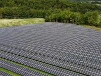 The 2.2 megawatt Lawrence Brook Solar project is providing low-cost renewable energy to Morrisville Water and Light customers