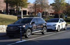 The United States gets its first solar roadway, located in Peachtree Corners, Georgia