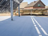 Sandia Labs tests Terra Pave soil binder, says it's environmentally friendly for bifacial solar sites