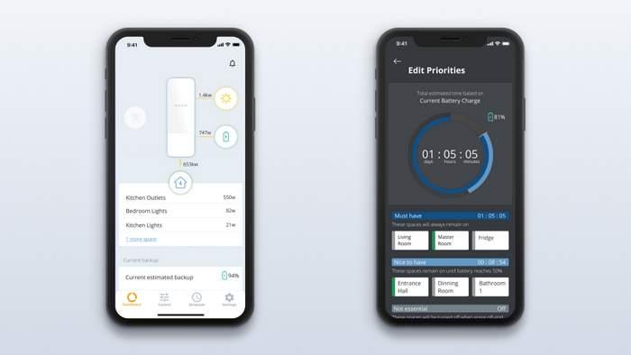 Span Home App Screens