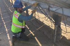 Tie breakers: A test of cable management materials in the California desert