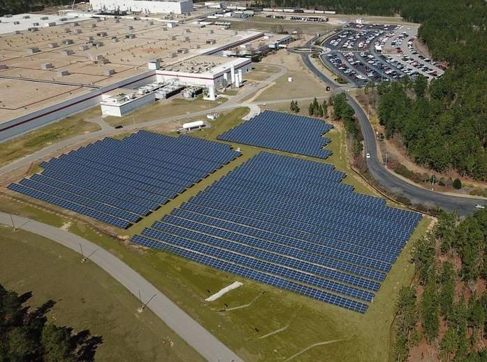 Bridgestone solar project