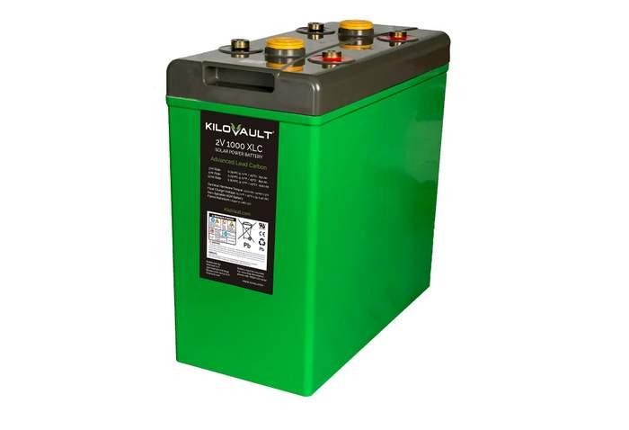 kilovault AGM battery