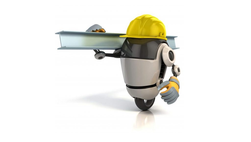 robot solar construction