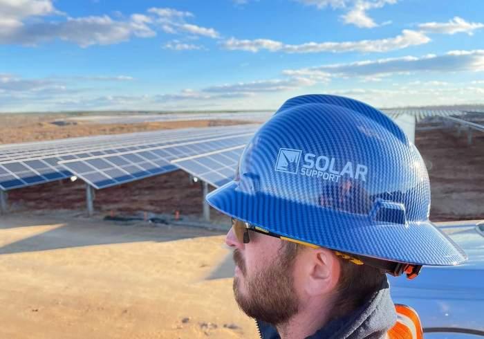 solar support