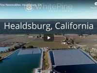 White Pine Renewables completes largest floating solar project in U.S. for Healdsburg, California