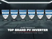 GoodWe earns EuPD Top Brand Award in six countries – a new record