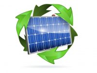 Start the (re)cycle: Zero-waste solar construction and end-of-life plans