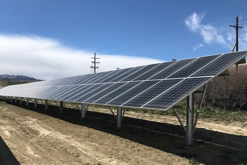 RBI Solar ground mount