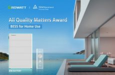 Growatt wins TÜV Rheinland's All Quality Matters Award for its ARK battery