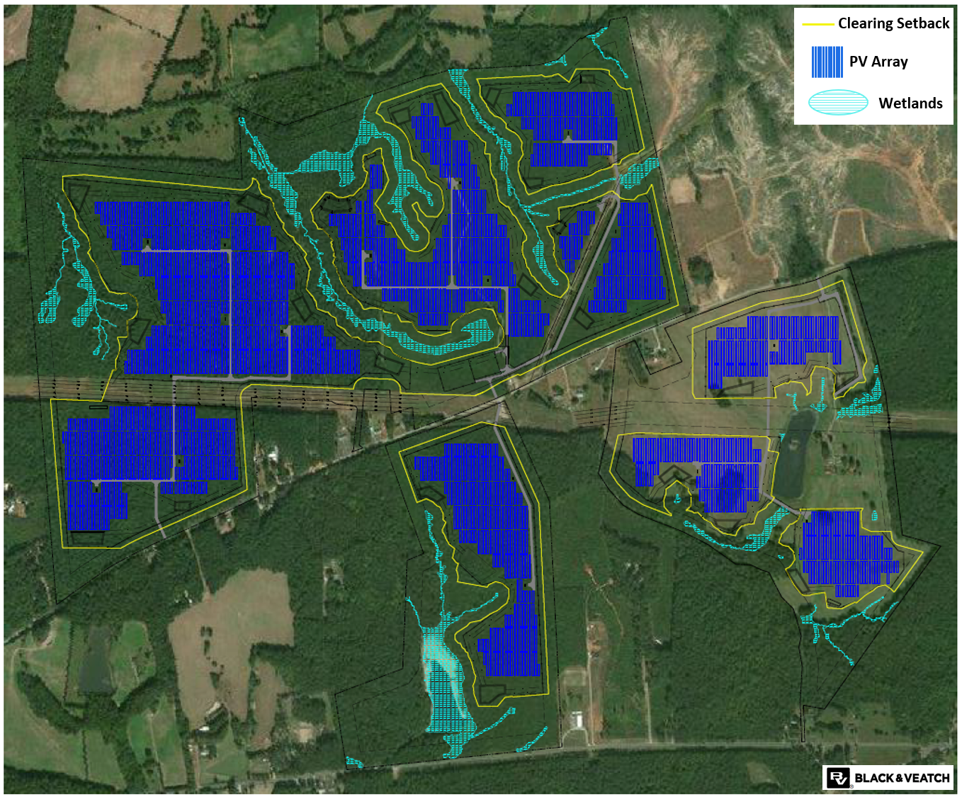 Black and Veatch case study near site shading loss