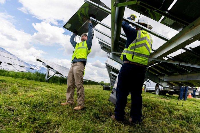 Speedway Solar power plant