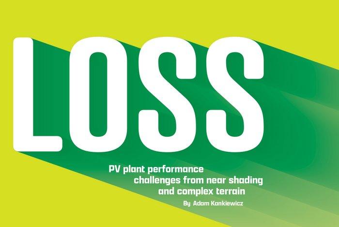near site shading PV performance losses