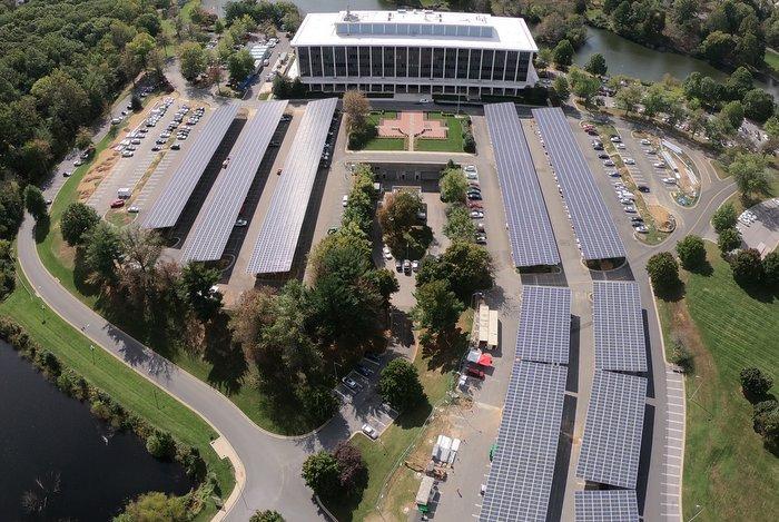 RBI Solar carport Montgomery County