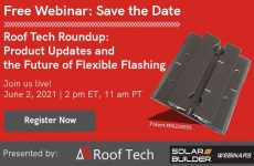 On Demand: The Future of Flexible Flashing and Roof Tech's Solar Mounts