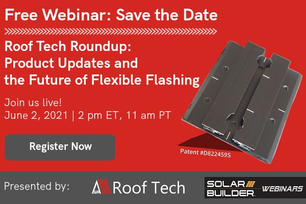 Roof Tech webinar