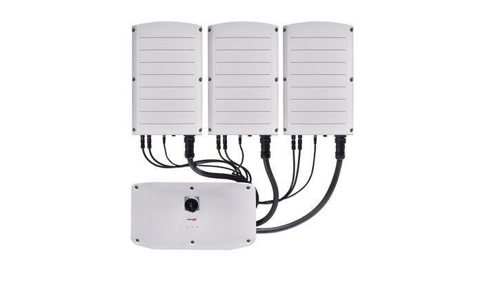 SolarEdge's 120kW Three Phase Inverter with Synergy Technology