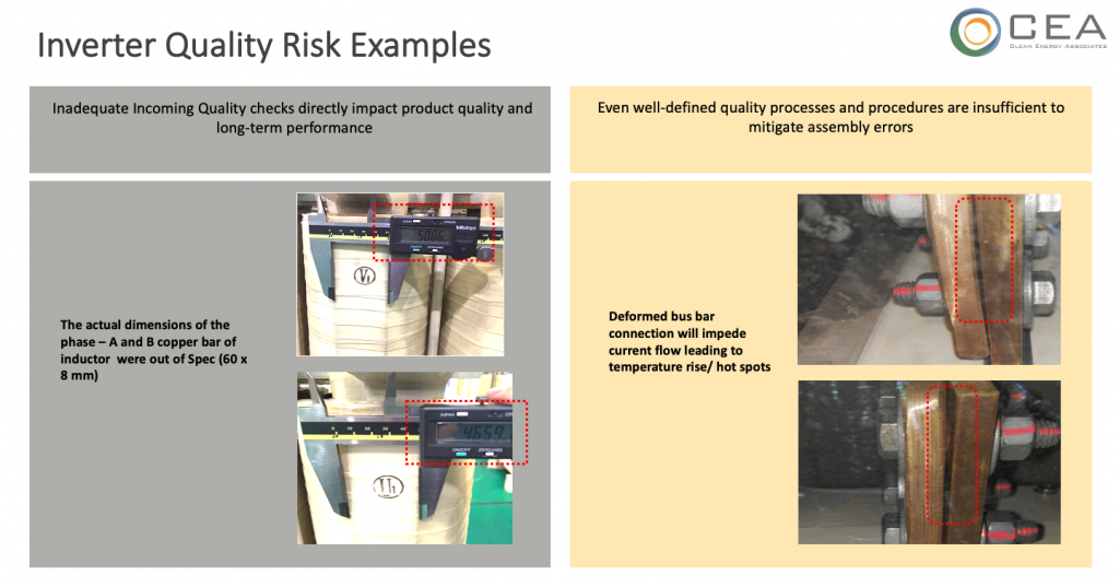 inverter quality risk example