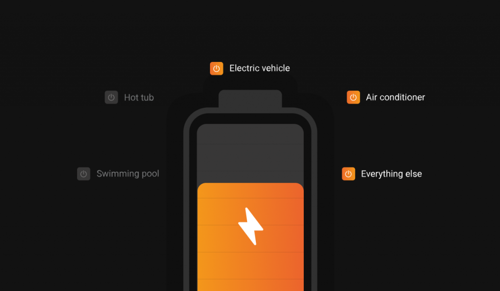Enphase load control app
