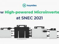 Hoymiles showcases high-power microinverters at SNEC 2021