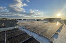 New Columbia Solar's 1-MW solar array at  The Shops at Dakota Crossing now operational