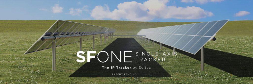 Soltec 1P solar tracker